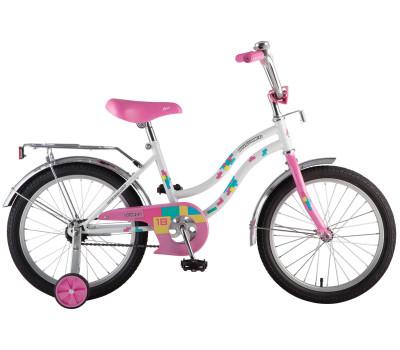 """Велосипед NOVATRACK 12"""" TETRIS, белый"""