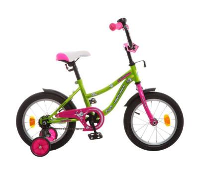 "Велосипед NOVATRACK 14"", NEPTUNE салатовый"