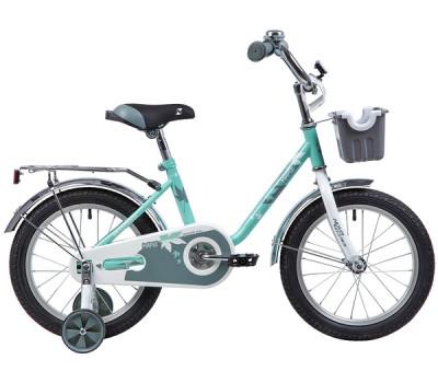 "Велосипед NOVATRACK 14"" MAPLE, зелёный"