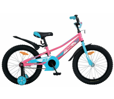 "Велосипед NOVATRACK 16"", VALIANT, фуксия"