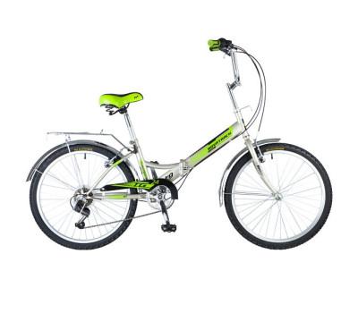 """Велосипед NOVATRACK 24"""" складной, серый, FS,"""