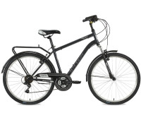 "Велосипед Stinger 26"" Traffic 18""; серый; TZ30/TY21/TS-38"