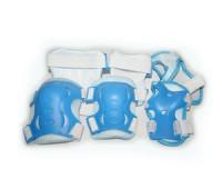Защита роликовая. В наборе: 2 защиты колена, 2 защиты локтя, 2 защиты кисти. Размер S. :(FB-HD):