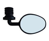 """Зеркало L:3"""", вращ. на 360°, креп. в руль"""