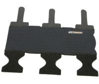 Защита Trigram нижней трубы рамы, 270x230мм, неопрен, чёрная