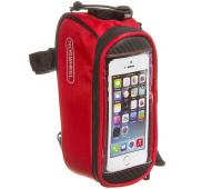 Велосумка Roswheel 12496S-CC5 на раму, для телефона размер S Красная